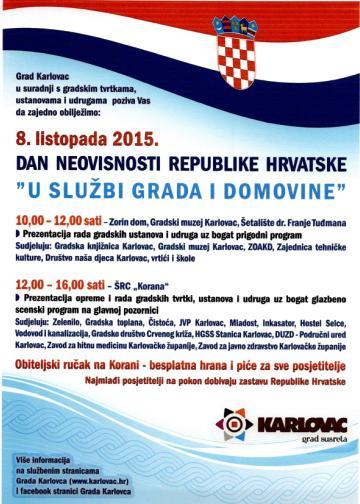 Plakat Dan neovisnosti m