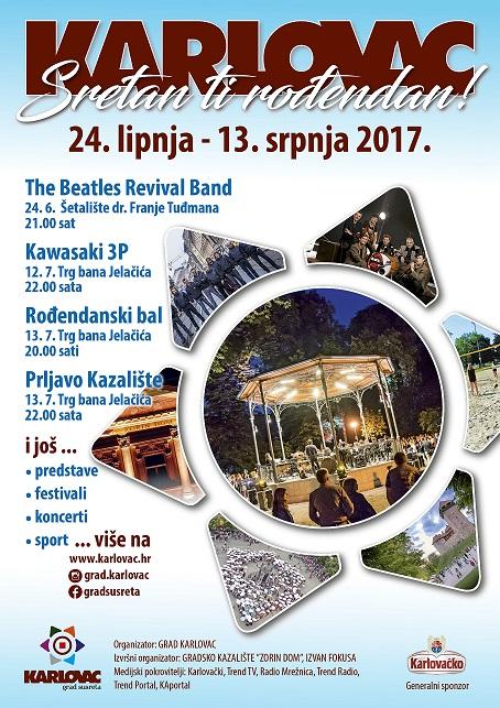 Plakat 2017 GRAD KARLOVAC m